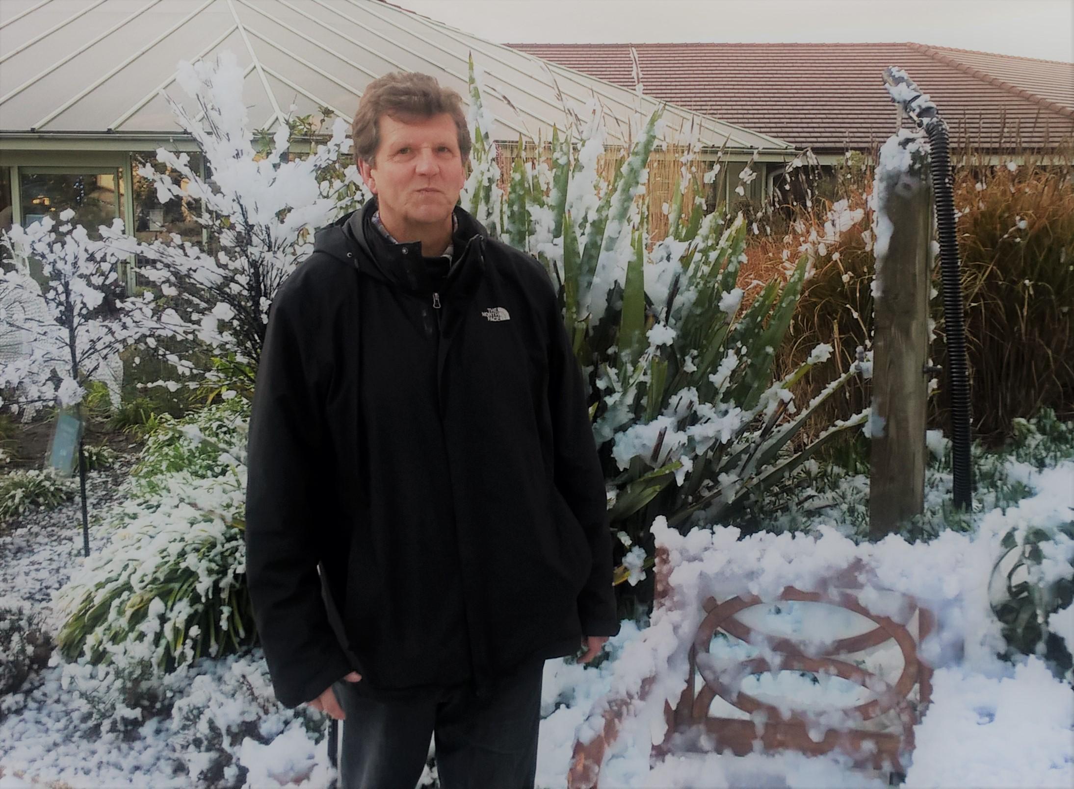 Garden Centre Faux Snow
